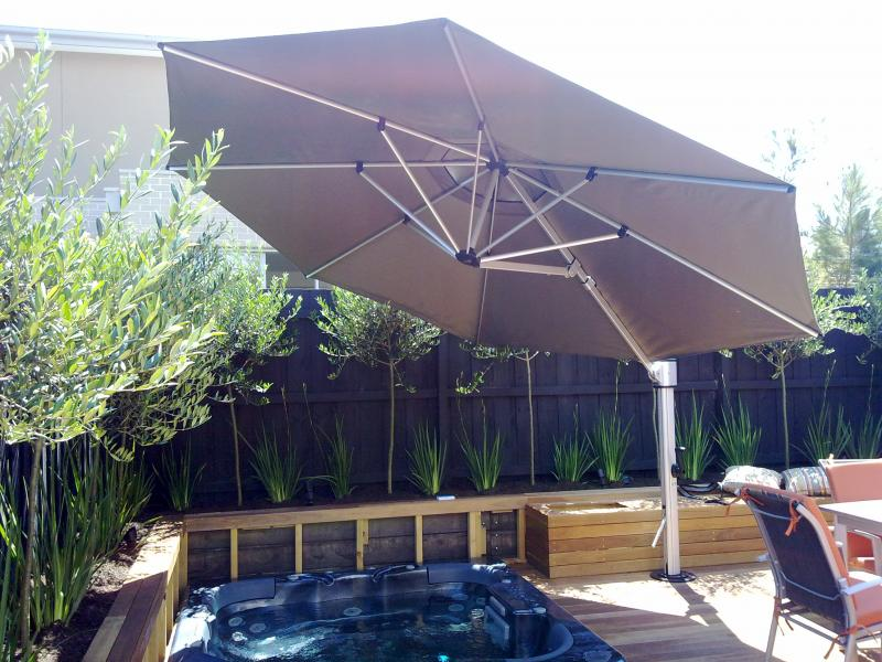Eclipse Cantilever Umbrellas 187 Temporary Pool Fencing
